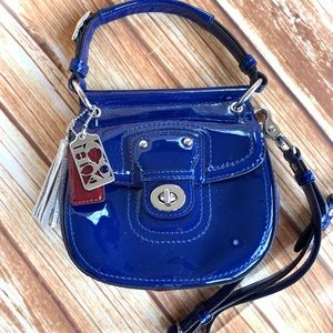 Coach Leather Crossbody Bag Mini Willis 21246